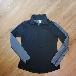 PINK lightweight quarter zip up jacket.  Size L
